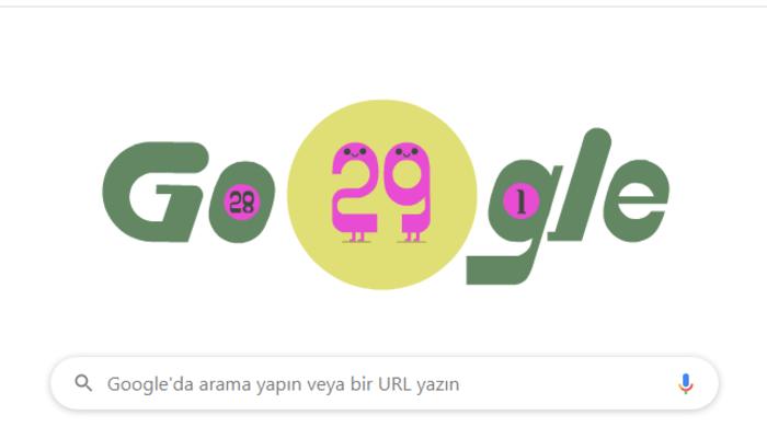 Google'dan 'Artık gün' için Doodle! Artık gün ve artık yıl nedir?