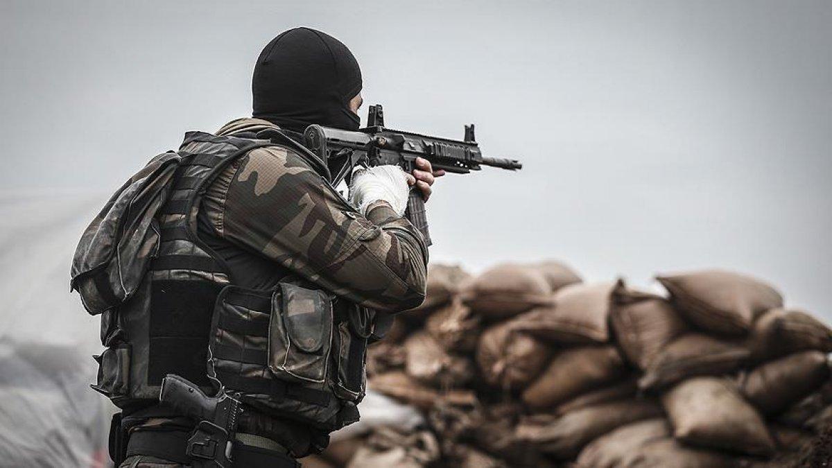 Haftanin'de 7 terörist öldürüldü