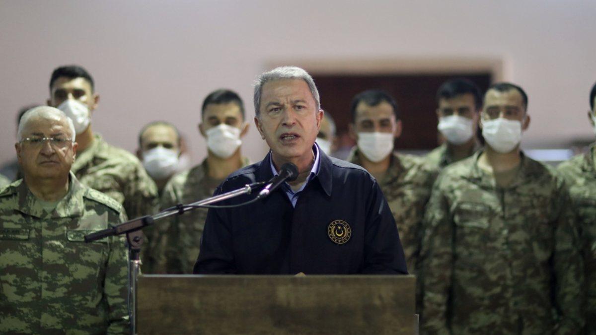 Hulusi Akar: Libyada meşru hükümetin...