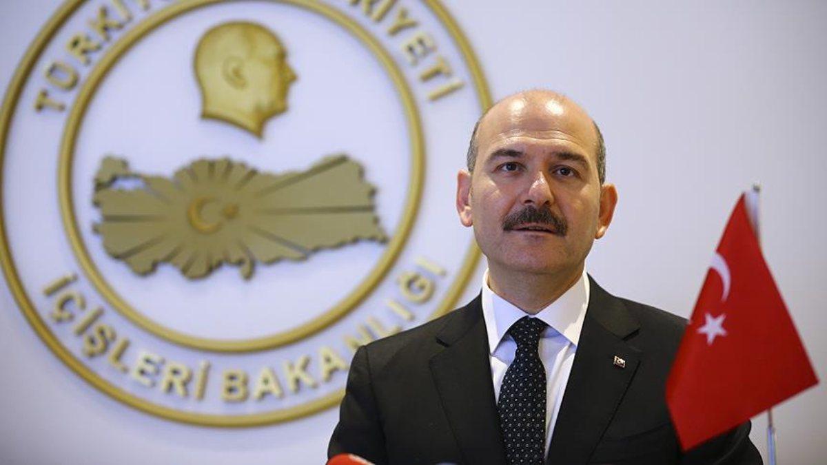 İçişleri Bakanı Süleyman Soylu:...