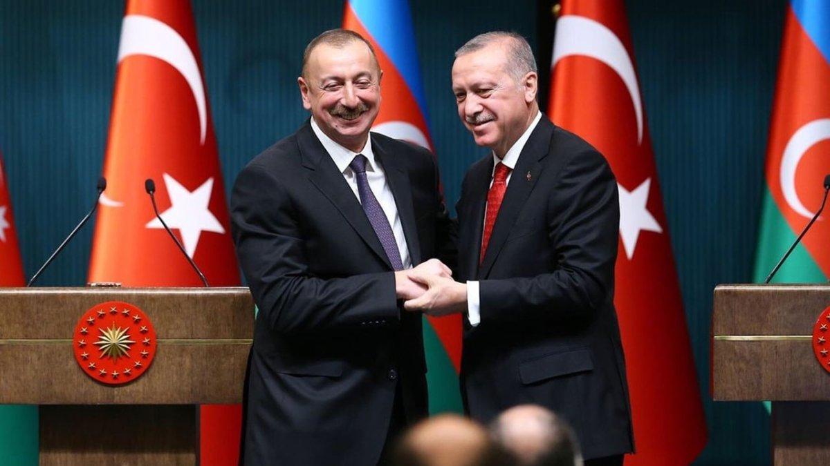 İlham Aliyevden, Erdoğana doğalgaz...