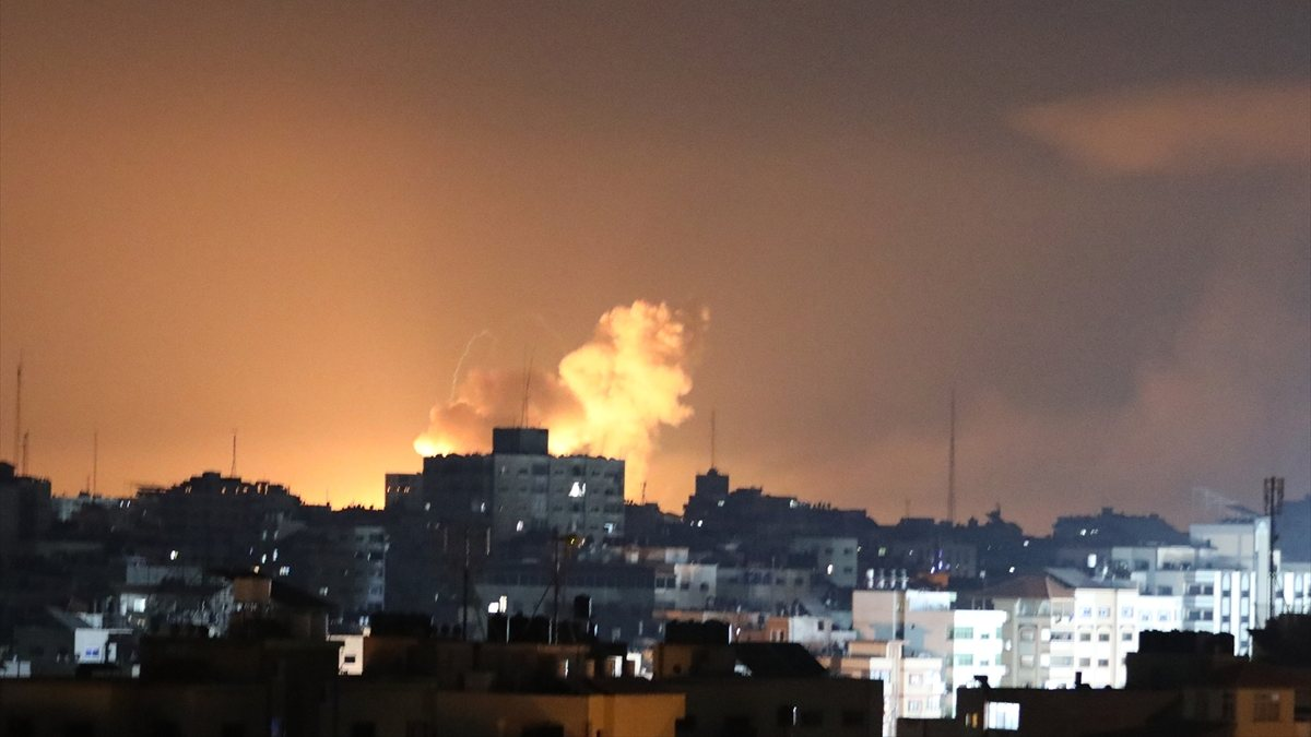 İsrail ordusundan kara harekatı açıklamasından...