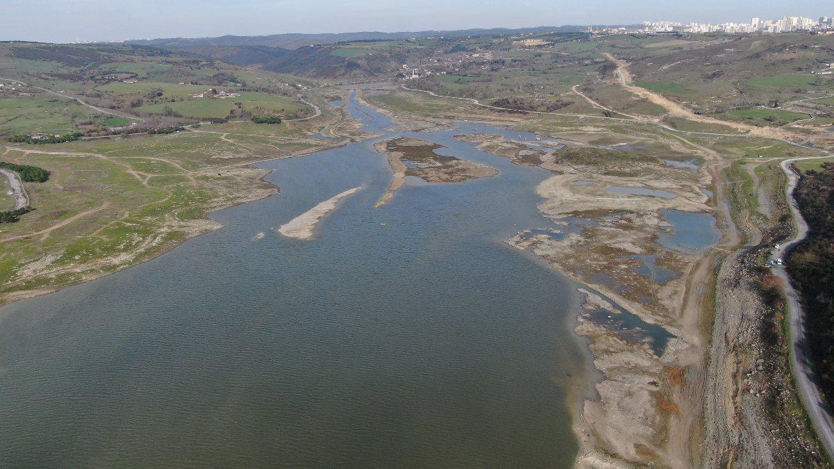 İstanbul barajlarında su seviyesi yüzde 12,73 yükseldi