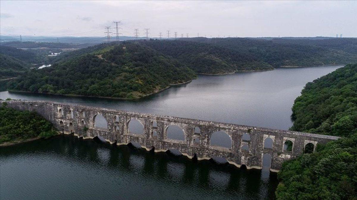 İstanbul'da barajların doluluk oranı yarıdan fazla