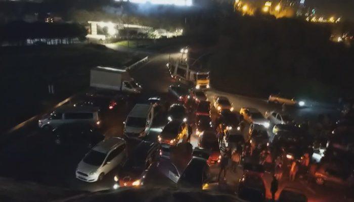 İstanbul'da İdlib şehitleri için 300 araçlık konvoy