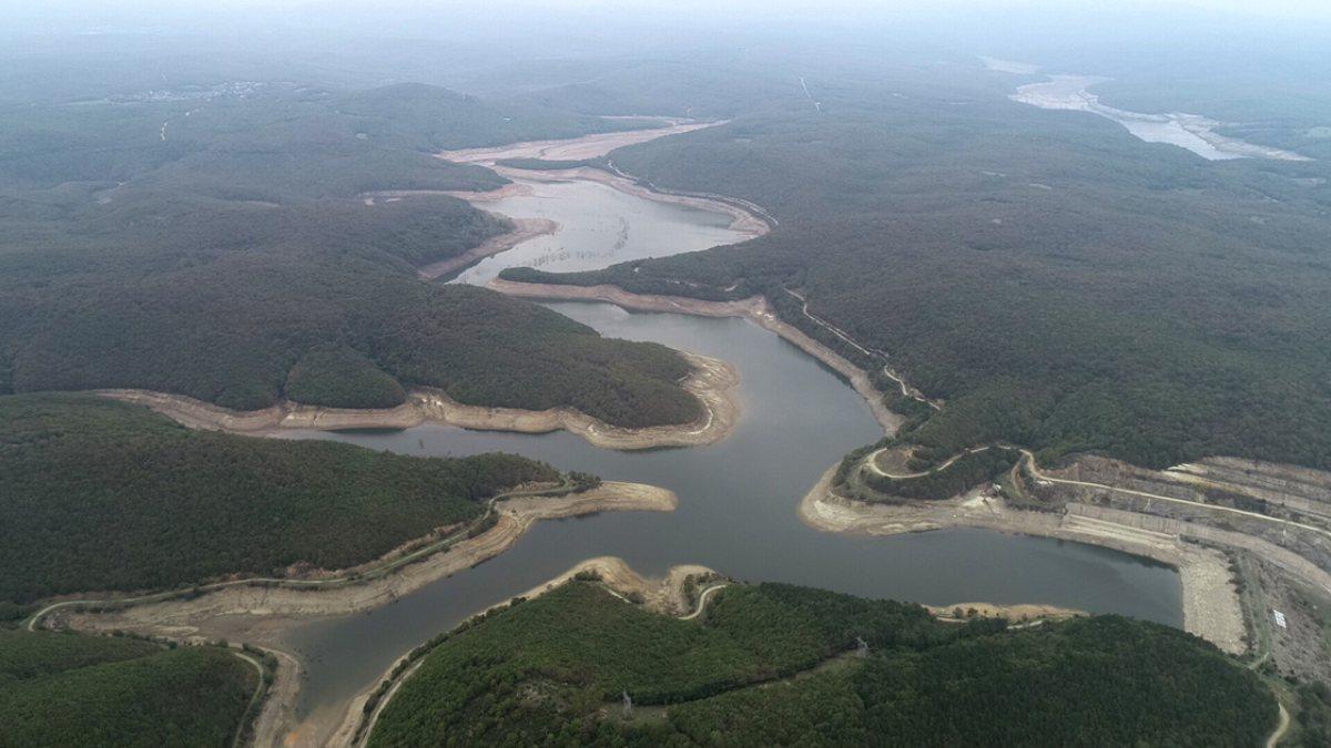 İstanbul'un barajlarındaki su miktarında artış sürüyor