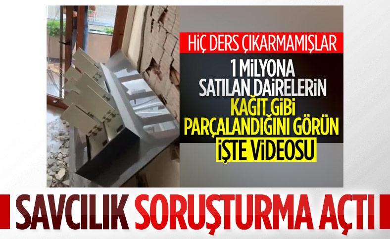 İzmir'deki kusurlu yapılarla ilişkili soruşturma başlatıldı