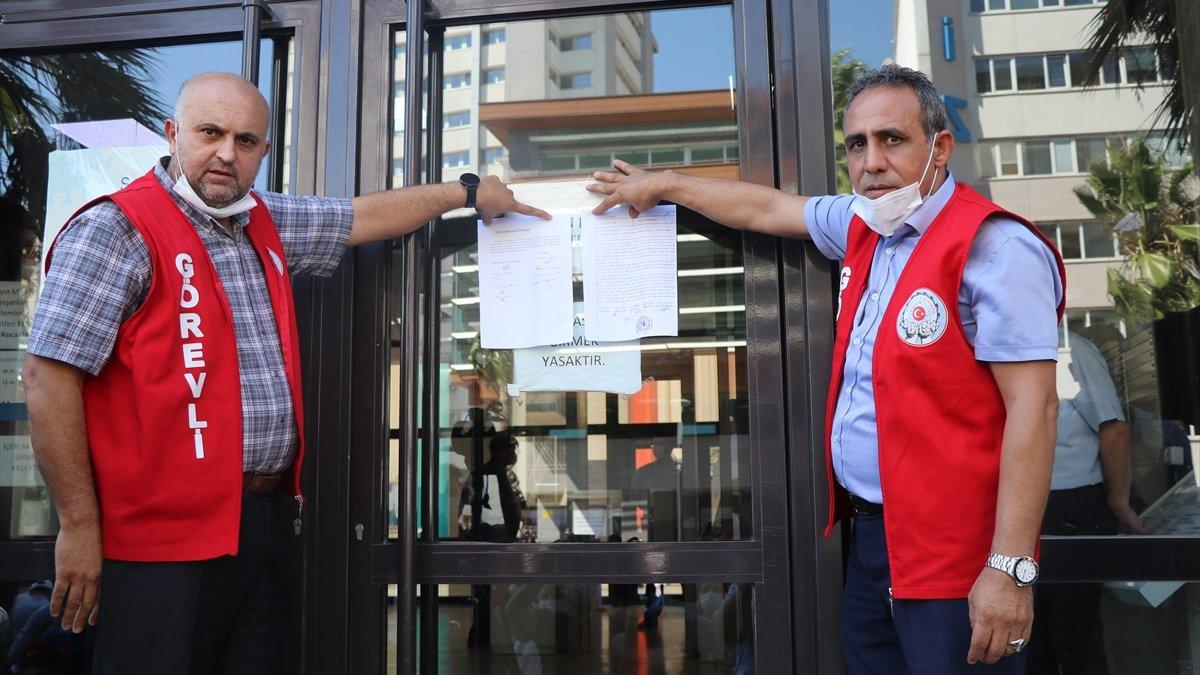 İzmir ve Mersin belediyelerinde işçiler...
