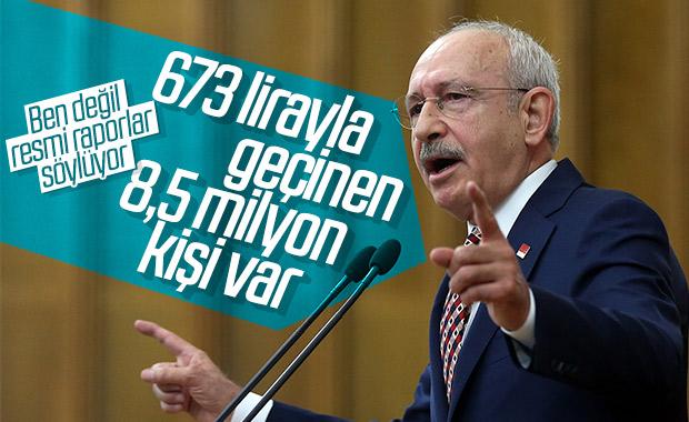 Kemal Kılıçdaroğlu düşük gelirliler hakkında konuştu