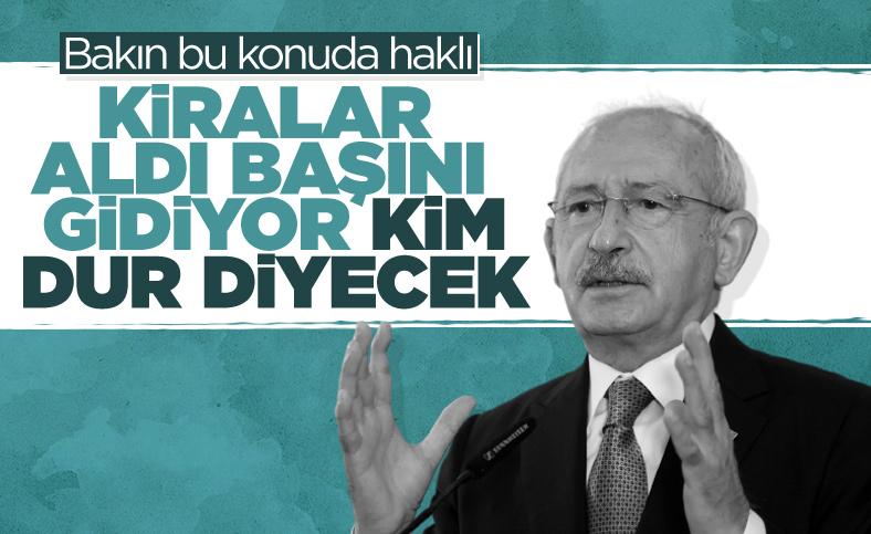 Kemal Kılıçdaroğlu'ndan artan kira fiyatlarına...