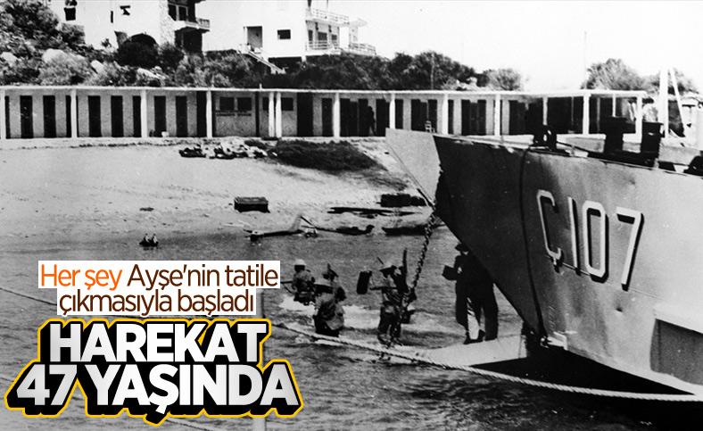 Kıbrıs Barış Harekatı'nın üzerinden 47 yıl geçti