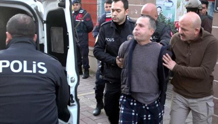 'Koronalıyım' diyerek polise tüküren kişi tutuklandı