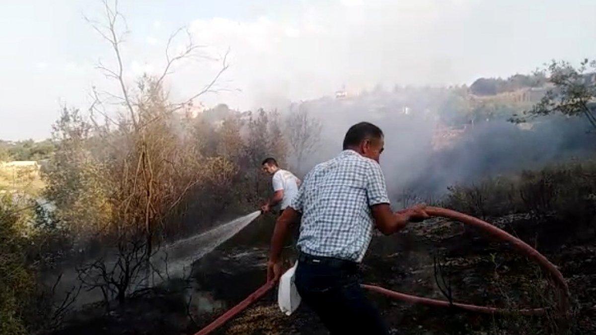 Mersin'de piknikçilerin uğrak yerinde yangın çıktı