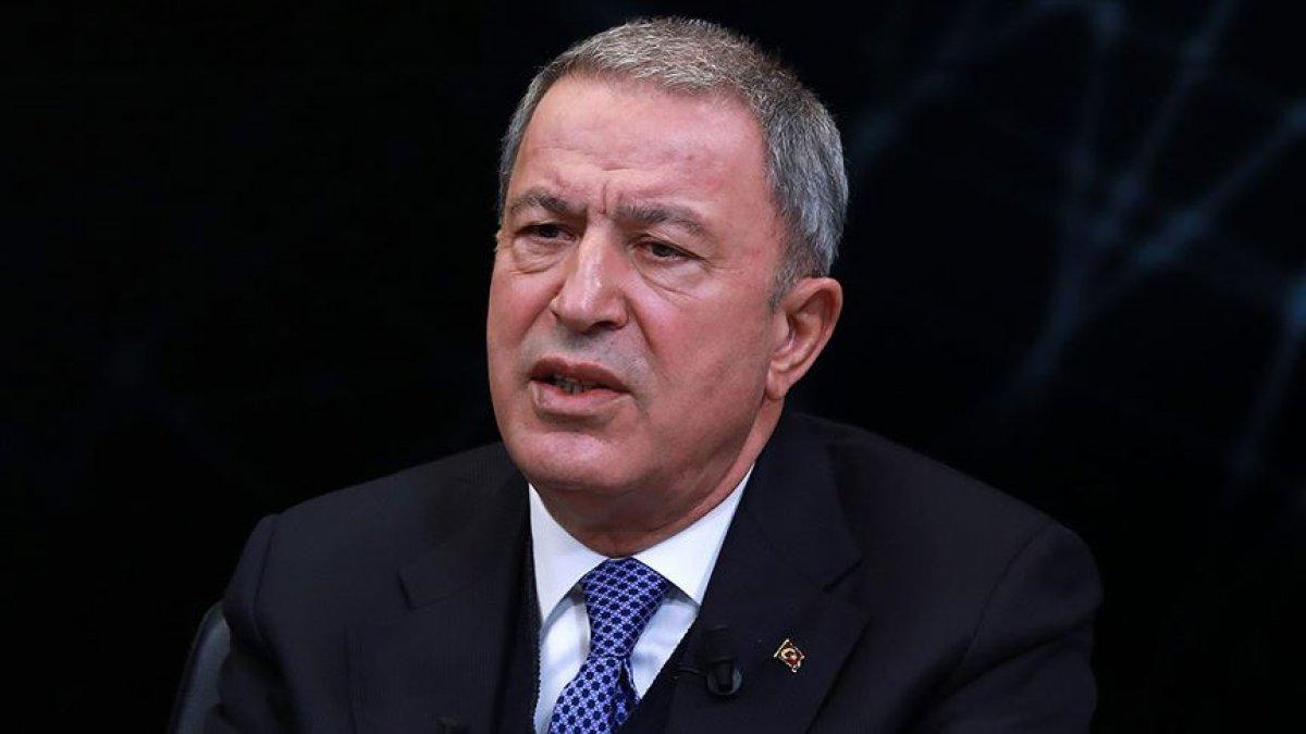 Milli Savunma Bakanı Hulusi Akar: Alçak saldırıyı kınıyoruz