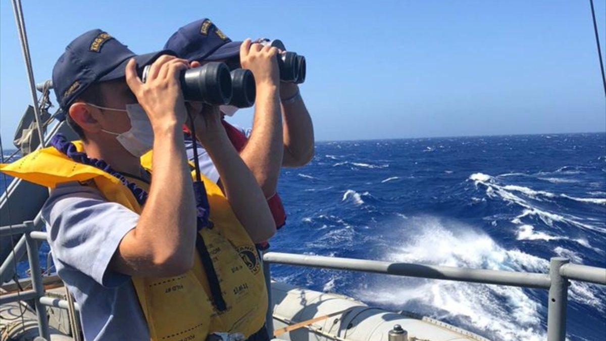 MSB: Doğu Akdeniz'de tekne battı