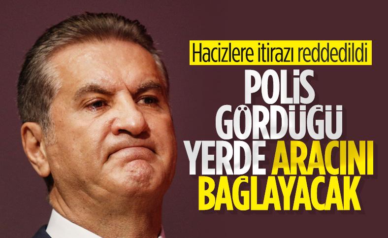 Mustafa Sarıgül'ün icra kararına itirazı reddedildi