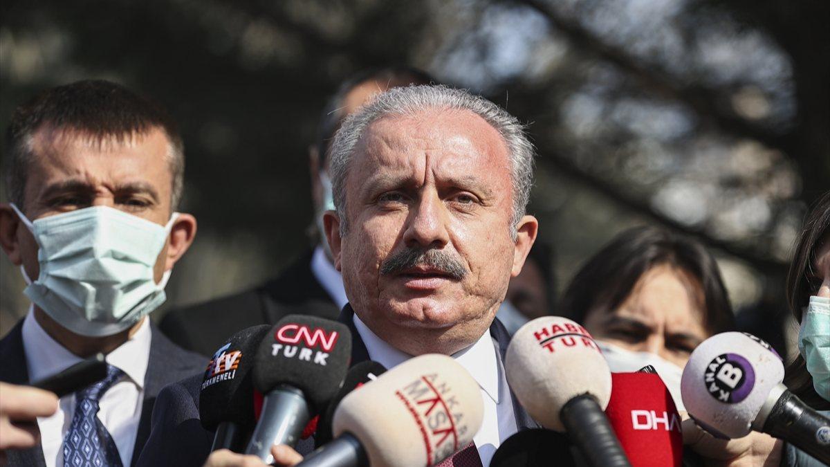 Mustafa Şentop'tan yeni anayasaya değerlendirmesi