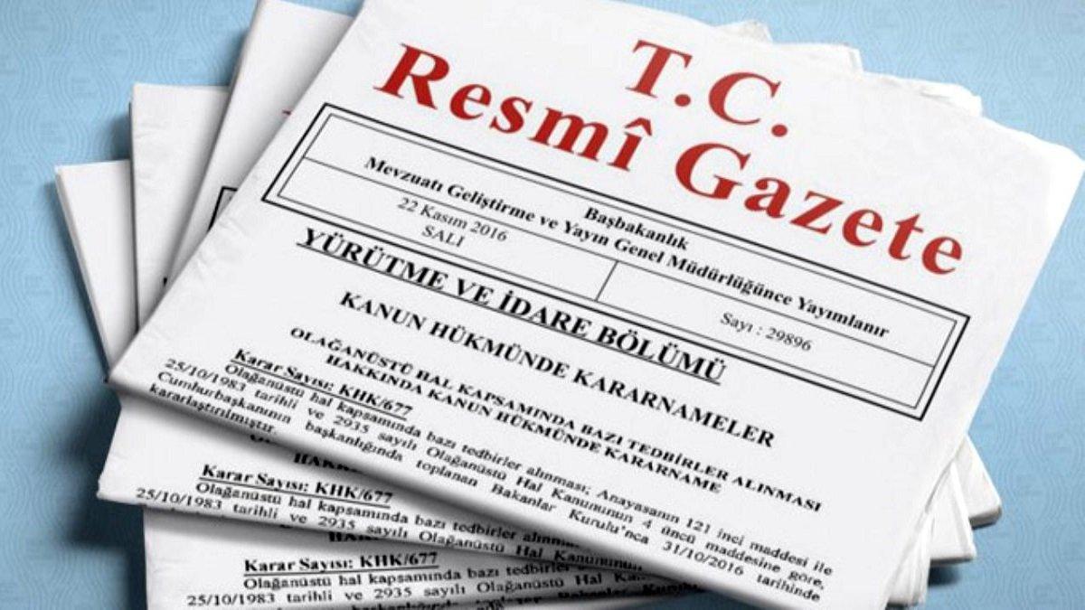 Resmi Gazete 29 Temmuz 2021   Resmi Gazete bugünün kararları