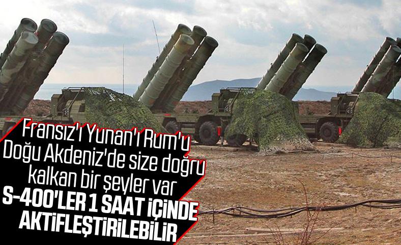 RUSEN: Türkiye S-400'lerini 1 saat içinde aktif edebilir