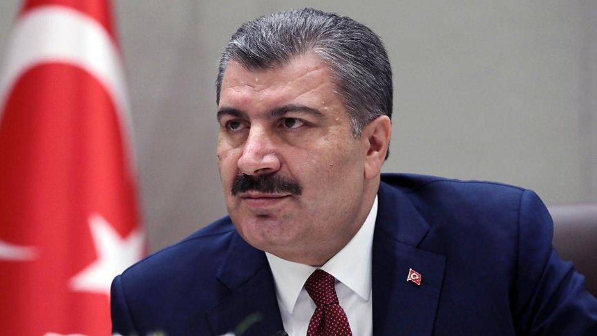 Sağlık Bakanı Fahrettin Koca, Ekrem İmamoğlu'na geçmiş olsun dileklerini iletti