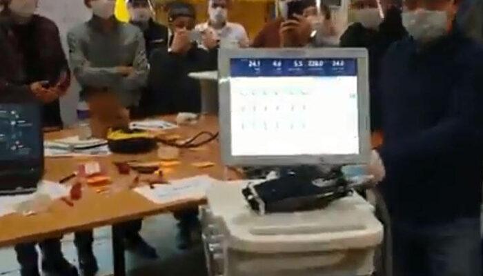 Selçuk Bayraktar paylaştı! İşte yerli solunum cihazının ilk prototipi