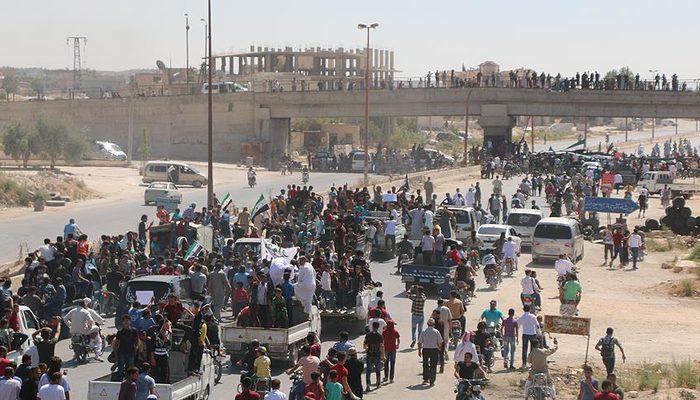 Son dakika: Türkiye sınırına 90 bin sivil daha göç etti