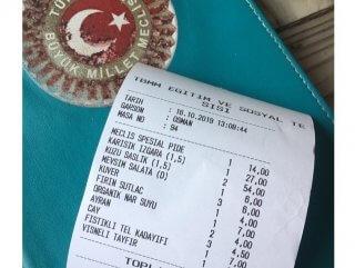 TBMM lokantasında güncel fiyatlar