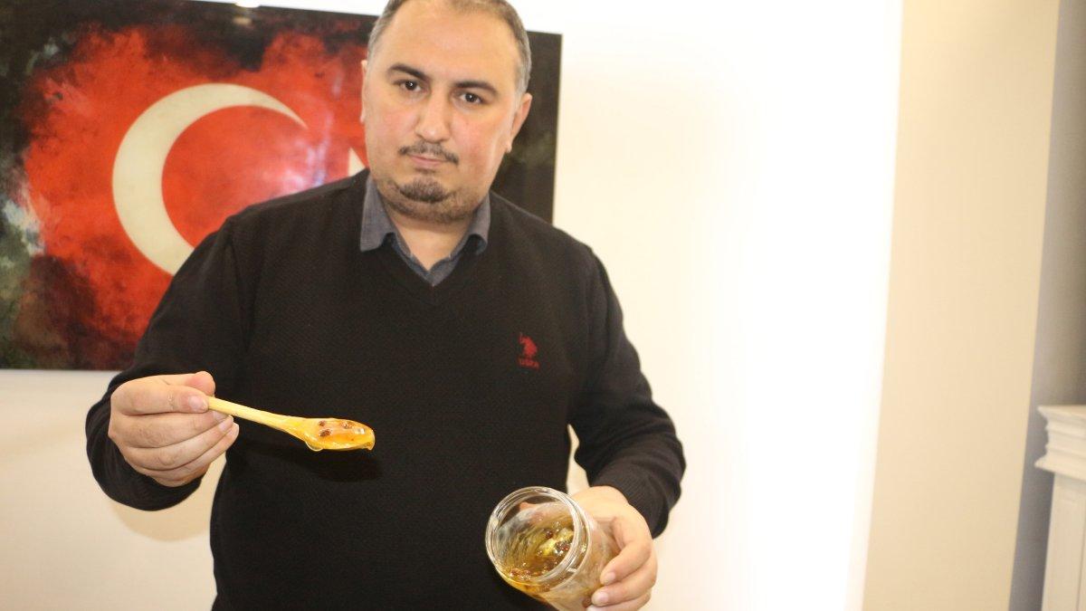 Tokat'ta talebin arttığı arı sütünün kilosu 10 bin lira
