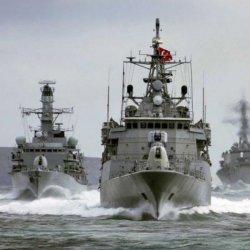 Türk savaş gemileri Akdeniz'e hareket ediyor