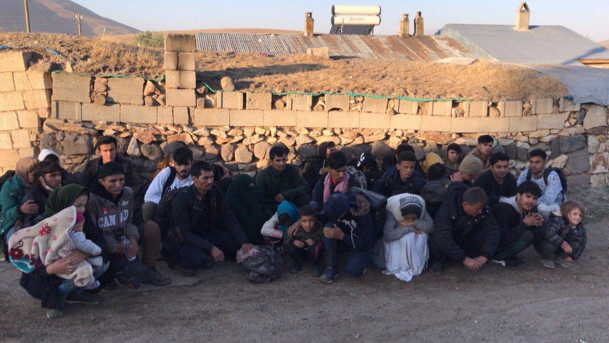 Van'da 40 kaçak göçmen yakalandı