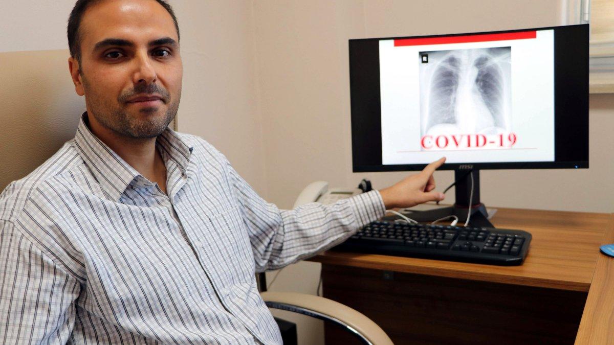 Van'da röntgen filmlerinden koronavirüsü teşhis eden sistem geliştirdi