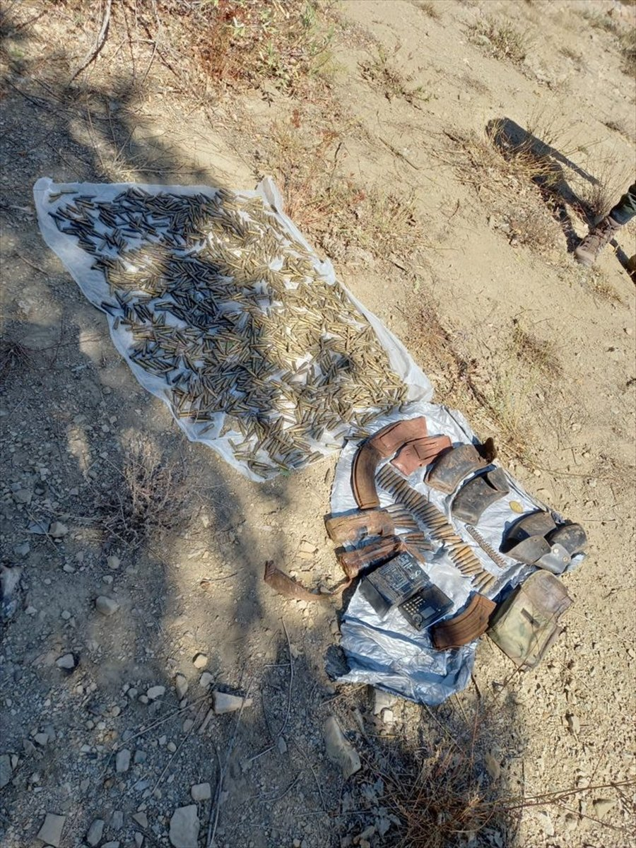 Tunceli de tespit edilen 7 terörist sığınağı yok edildi #2