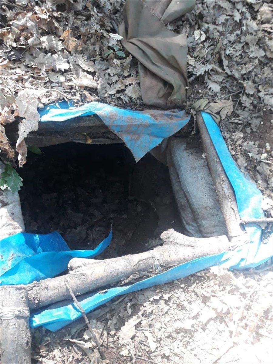 Tunceli de tespit edilen 7 terörist sığınağı yok edildi #3