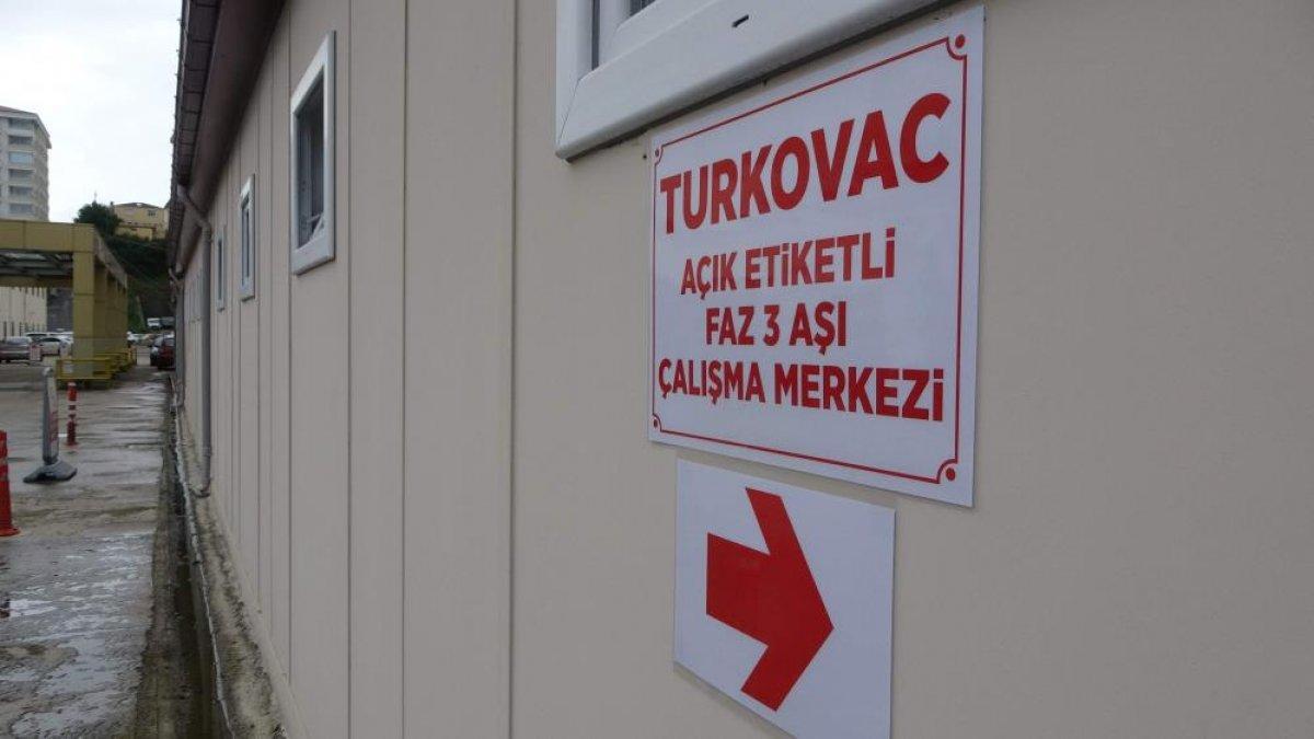 Turkovac aşısının Faz-3 çalışması Trabzon'da başlıyor