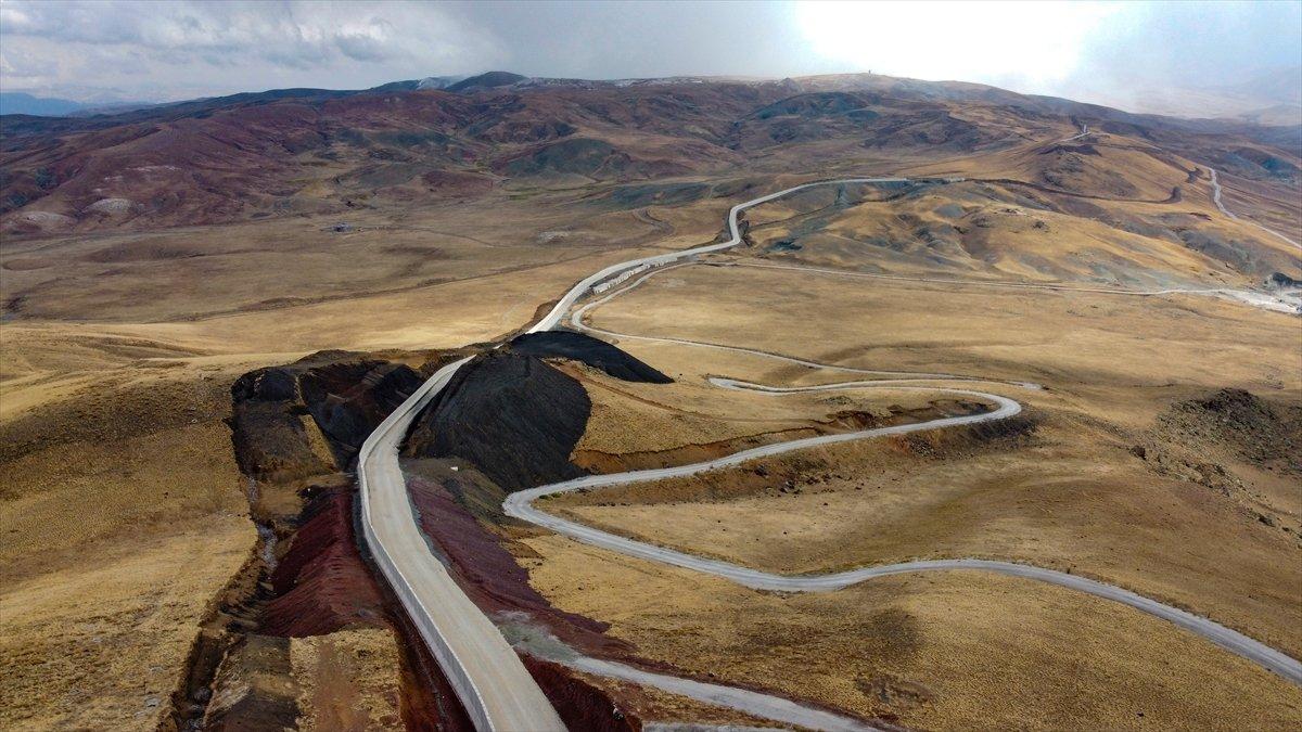 Van ile İran sınırına yapılan güvenlik duvarı, 20 kilometreye ulaştı #2