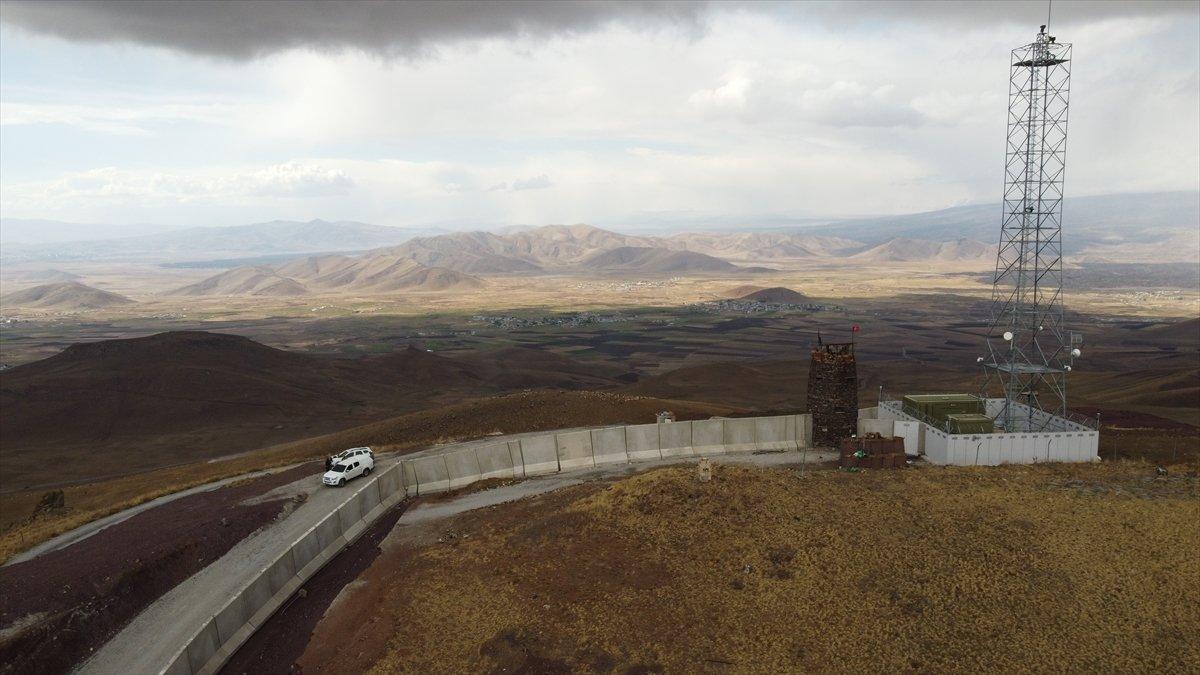 Van ile İran sınırına yapılan güvenlik duvarı, 20 kilometreye ulaştı #5