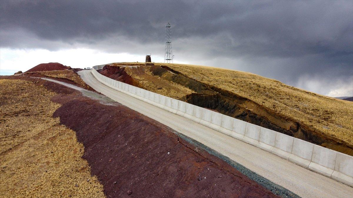 Van ile İran sınırına yapılan güvenlik duvarı, 20 kilometreye ulaştı #6