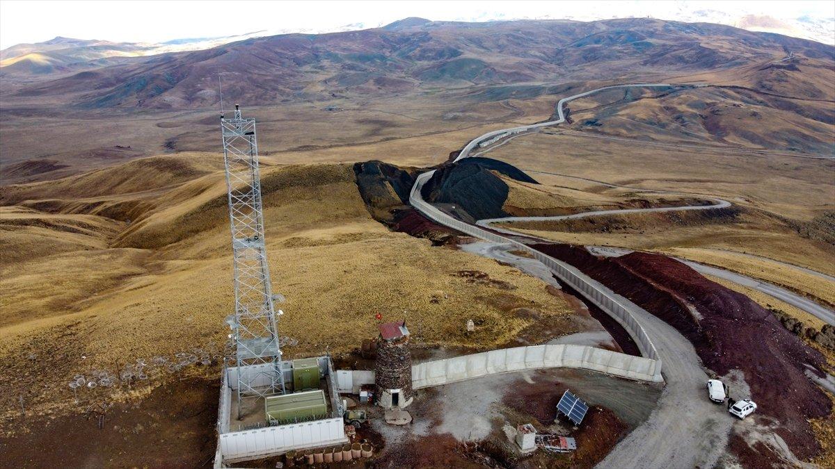 Van ile İran sınırına yapılan güvenlik duvarı, 20 kilometreye ulaştı #9