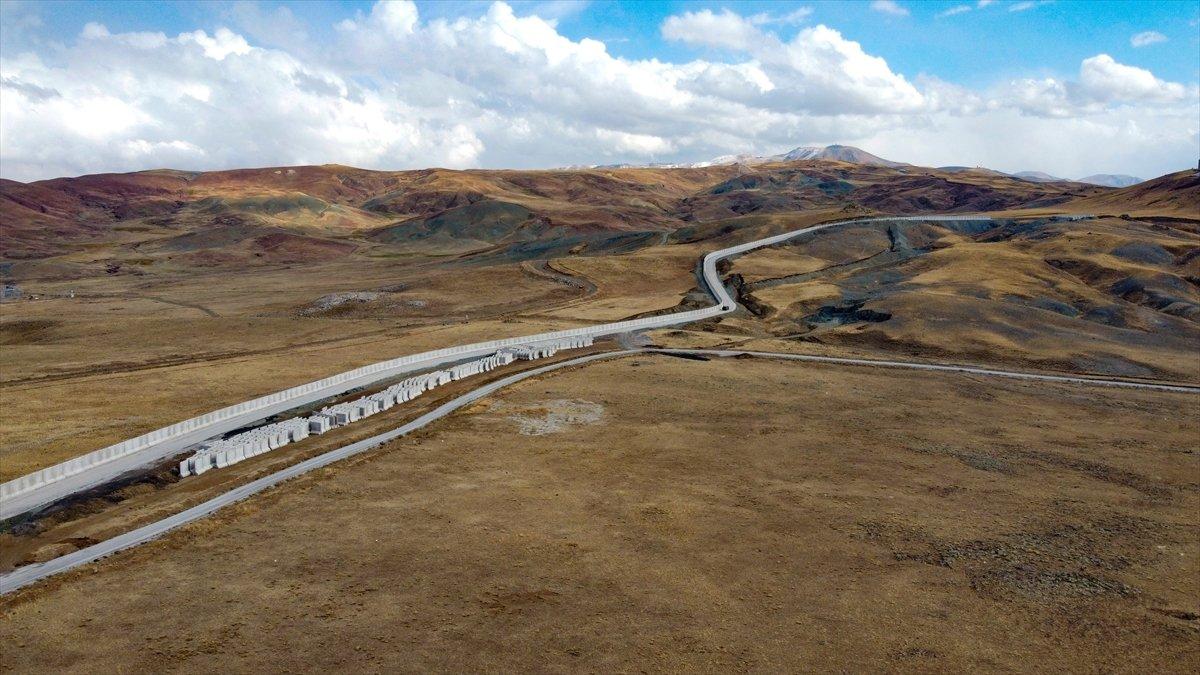 Van ile İran sınırına yapılan güvenlik duvarı, 20 kilometreye ulaştı #10