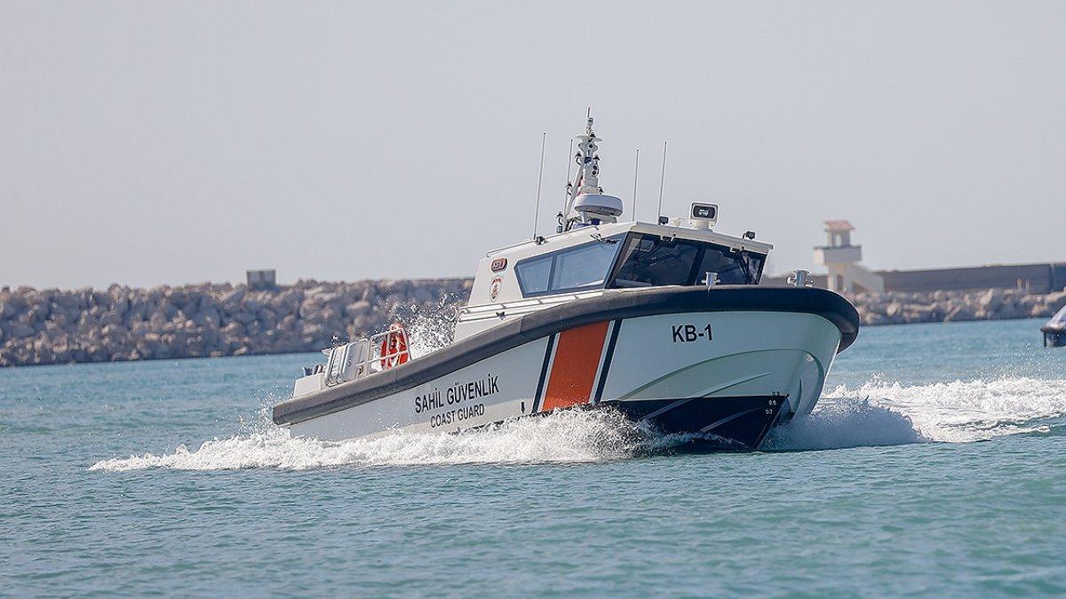 Yerli tasarım sahil güvenlik botu görüntülendi #1