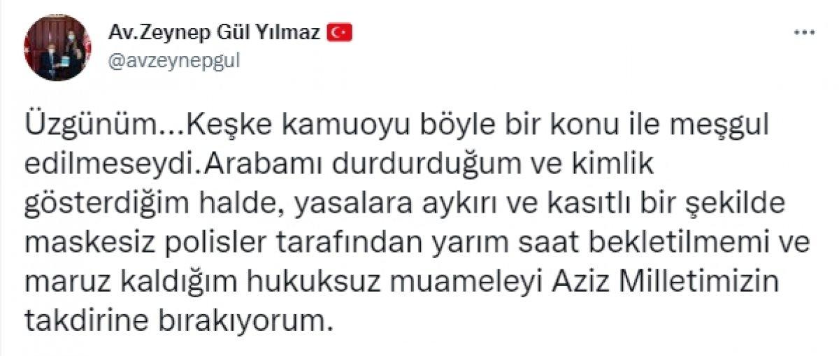 Zeynep Gül Yılmaz dan polise hakareti sonrası ilk açıklama #1